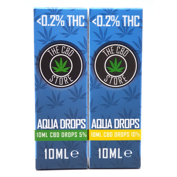 CBD Aqua Drops 5%, 10%