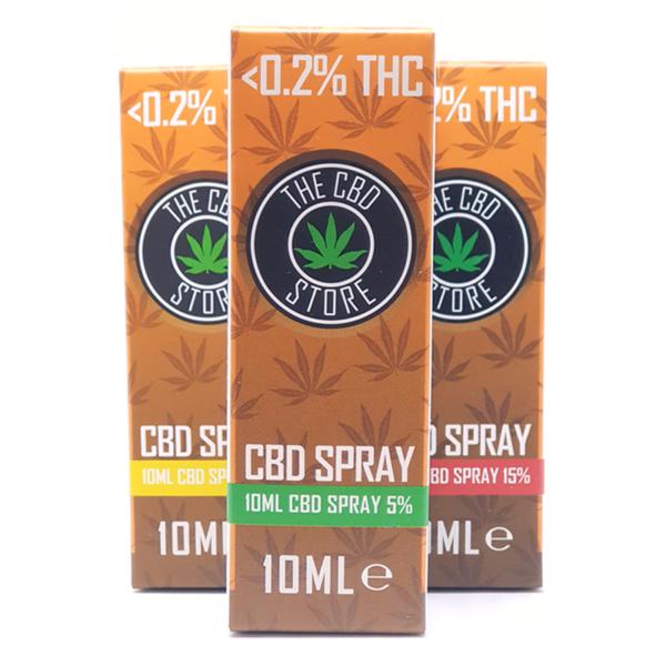 CBD Spray : 3 Strengths : CBD Store UK