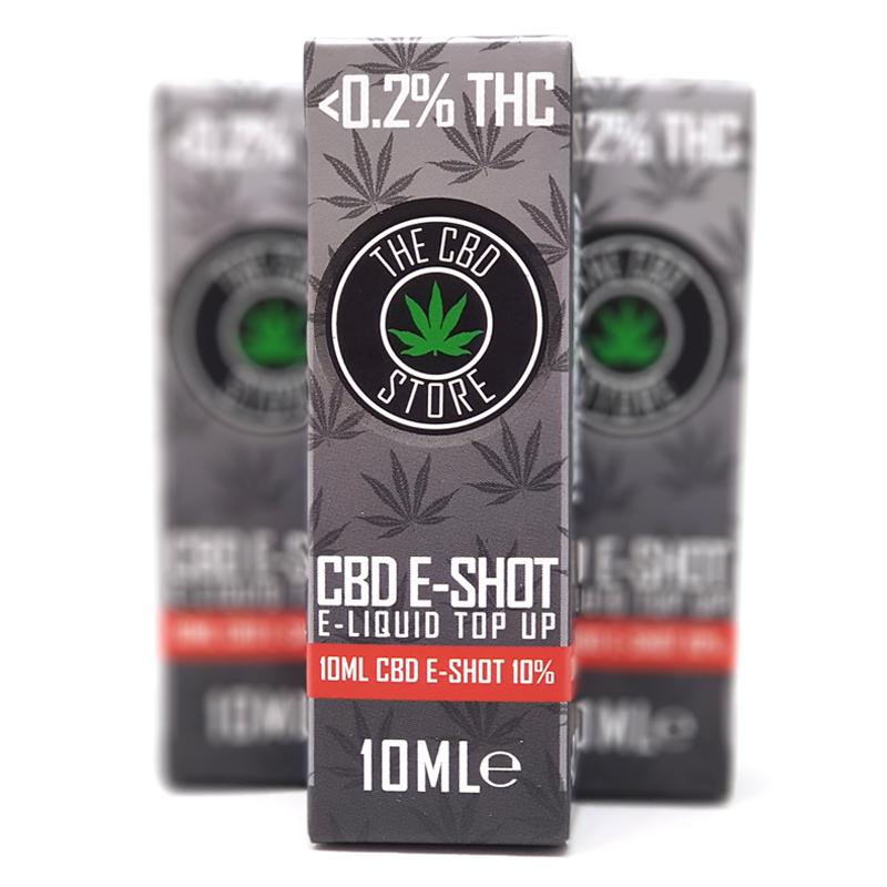 CBD E-SHOT : Infuse Your E-Liquid