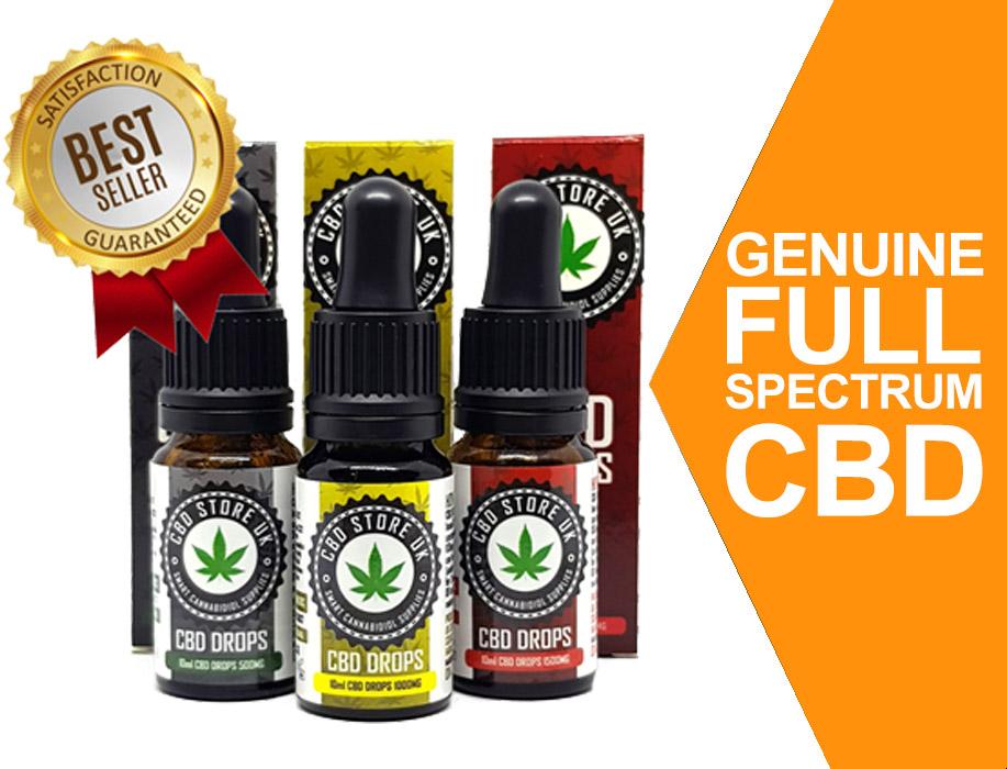 Genuine full spectrum CBD Drops