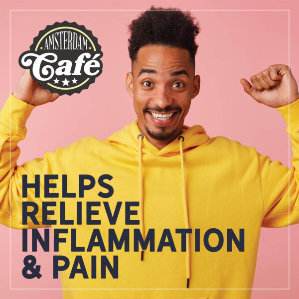 amsterdam cafe helps relieve inflamation pain